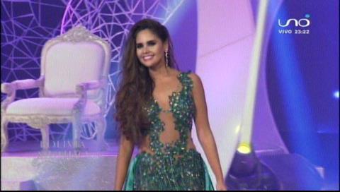 Miss Bolivia 2018: Candidatas en traje de gala