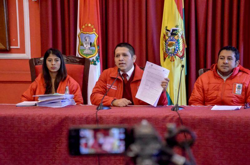 Gobernación de Tarija exige la detención preventiva de Lino Condori por el caso Imprenta