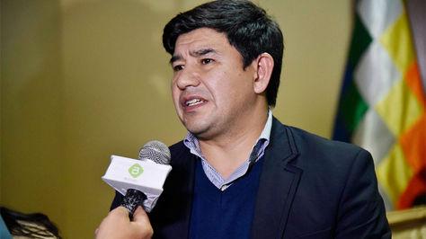 El legislador chuquisaqueño Milton Barón
