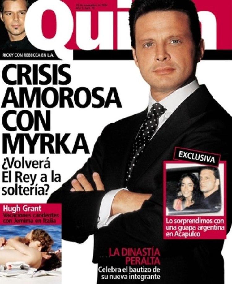 La foto de Hanzel Zárate que fue portada en la revista mexicana Quién, dedicada a las celebrities.