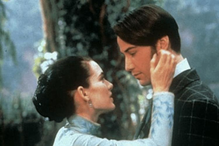 Winona Ryder y Keanu Reeves se casaron ante un cura real en el set de Dracula (Columbia Pictures)