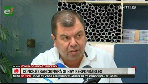 Secretaría del Concejo afirma que no hay denuncia por supuesto sobreprecio de bandas y banderas