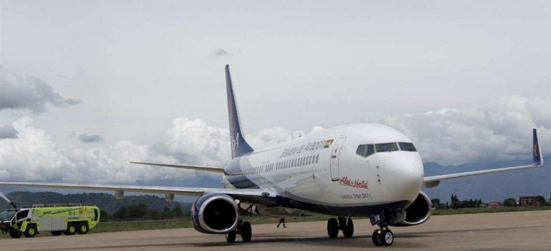 Los vuelos solidarios dan un respiro a la empresa, pero no solucionan los problemas de liquidez. Foto: APG Noticias