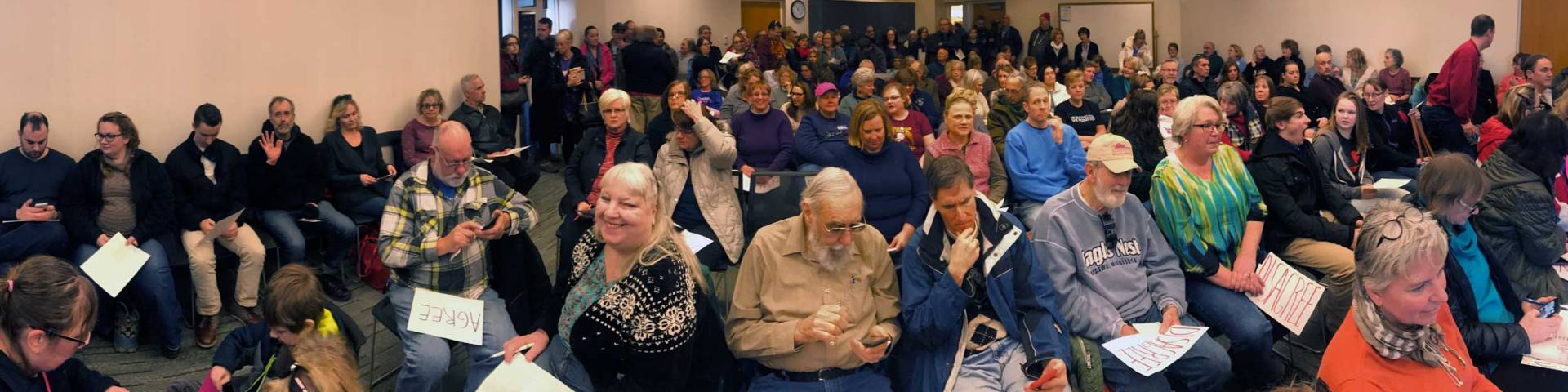 Town hall in CD2 without Jason Lewis