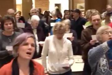 Northfield, NN town hall without Jason Lewis