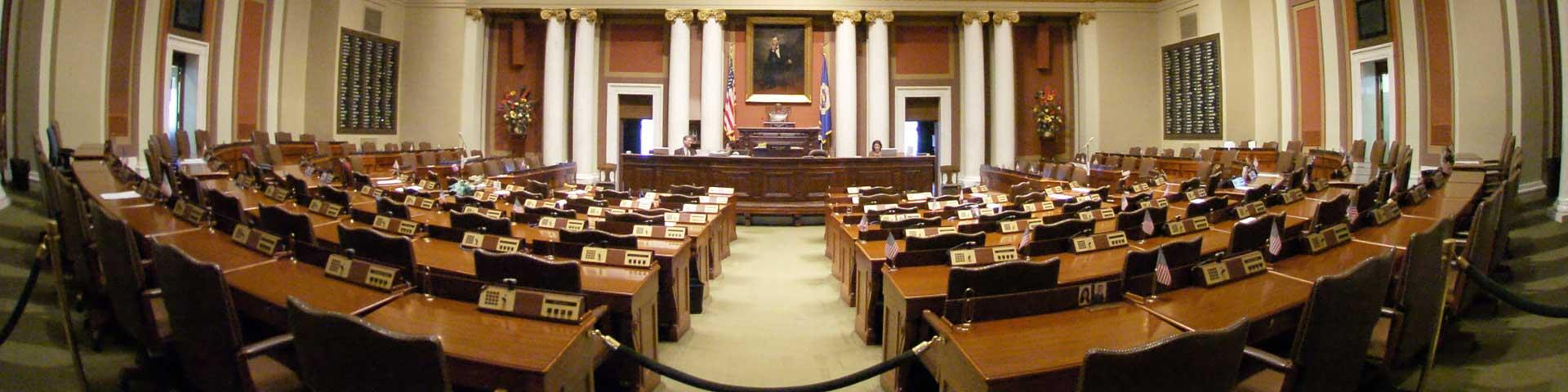 Minnesota House of Representatives chamber