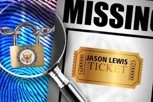 missing ticket Lewis