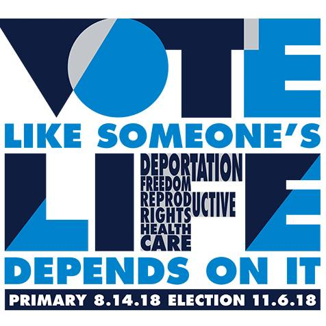 Vote like someones life depends on it