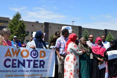 Amazon: Do Right for MN Workers and Communities! @ AMAZON FULLFILLMENT CENTER