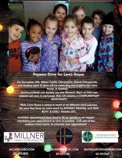 Pajama Drive for Lewis House @ Health Solutions Center