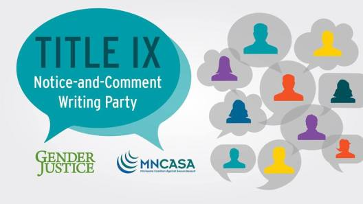Title IX Notice-and-Comment Writing Party @ Coffman Memorial Union