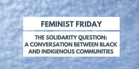 Feminist Friday: The Solidarity Question @ 101 Walter Library