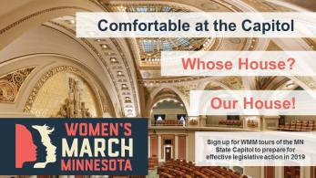 Comfortable at the Capitol: Whose House? Our House! @ Minnesota State Capitol