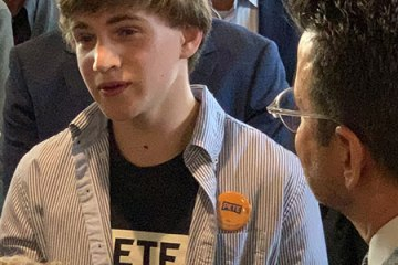 Asking Pete a question