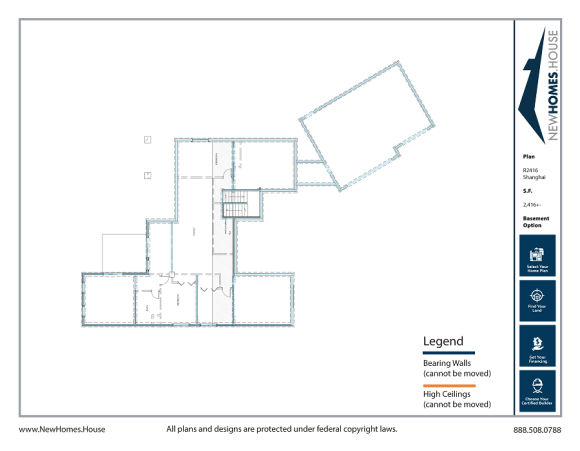 Pend Oreille single story home plan from CDAhomeplans.com Optional Lower Level Page