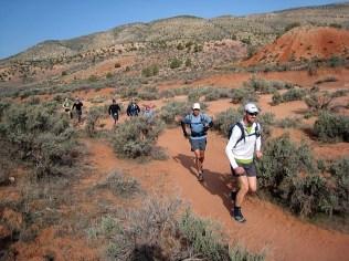 Starting the Buckskin Run (photo by Chris)