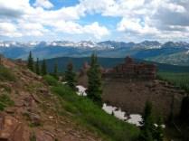 Nifty rocks on Shrine Mountain