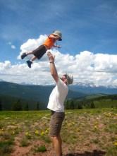 Flying Joe on Shrine Mountain