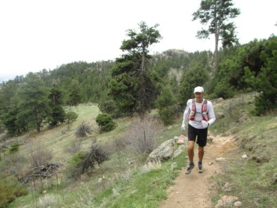 Brian on some lovely Horsetooth singletrack