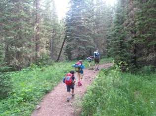 A little grumbling as we near camp