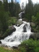 Cascades along the Cascade Trail