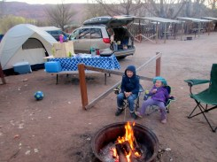 It's good to camp!
