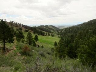 Mile 20: Spring Creek valley
