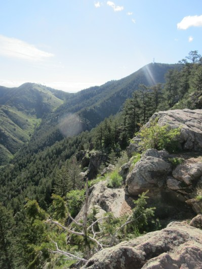 One of many views along the trail.