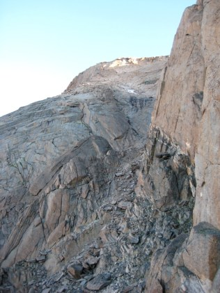 Keplinger's Couloir, the Palisades, and the Homestretch.