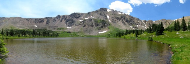 The lovely Caribou Lake.