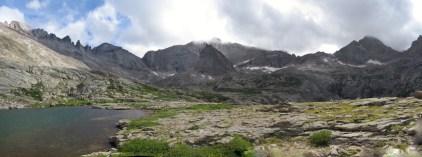 Upper Glacier Gorge from Blue Lake.