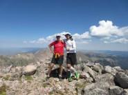 Mile 749: August 22, Clark Peak, Rawah Wilderness with Brian