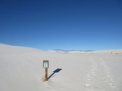 Starting the Alakli Flats trail