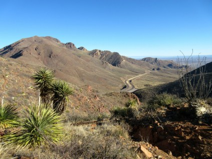 The Transmountain Highway is a good way to access the Franklins.