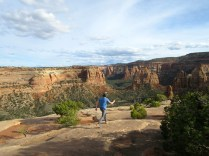 Can't beat the vistas of Monument Canyon from above.