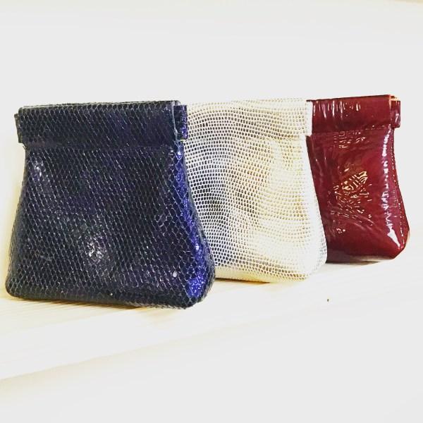 Porte-monnaie clic clac en cuir CDA Petites Choses