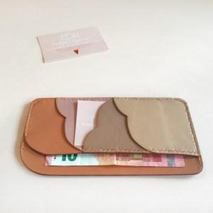 Porte-cartes et billet plat en cuir CDA Petites Choses