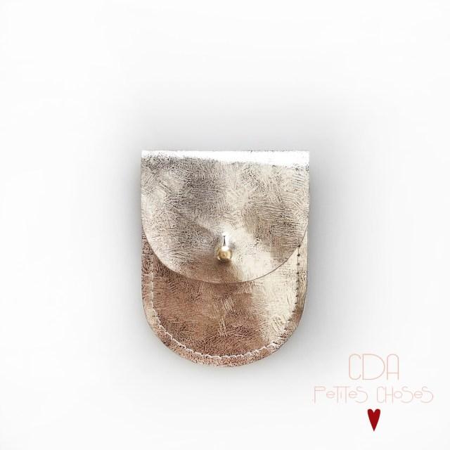 mini-pochette-argent-vieilli-CDA petites Choses