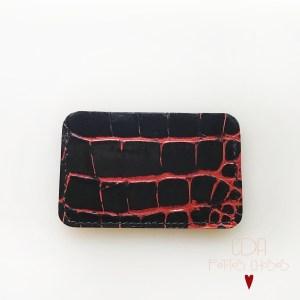 porte-cartes-croco-noir-nervures-rouge-2-CDA-Petites-Choses