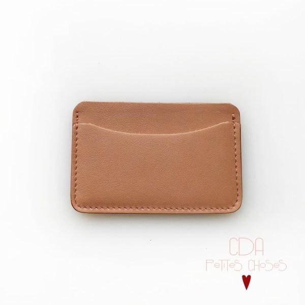 porte-carte-double-en-cuir-caramel-1 CDA Petites Choses