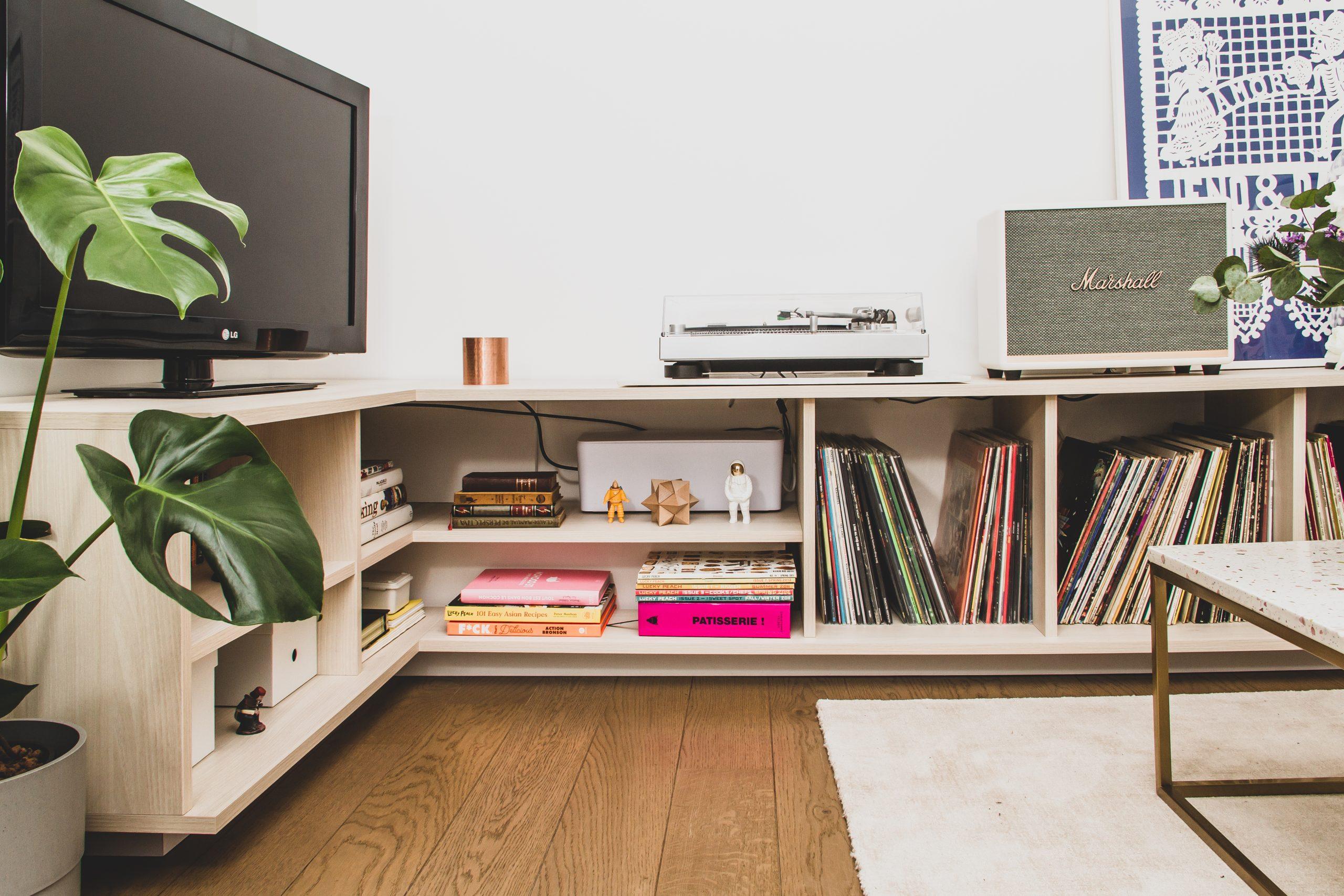 meuble d angle pour tv et rangements