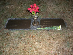 Wilburn and Shirley Davidson's Grave, Not My Will