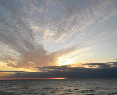 Orange Beach sunrise 11-14-2013, War and Sacrifice