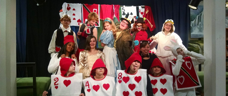 Cast of Alice in Wonderland Play