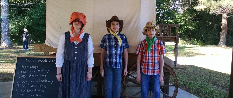 Homeschooling, Pioneer Week, children