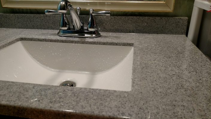 New Sink and Faucet, Saturday