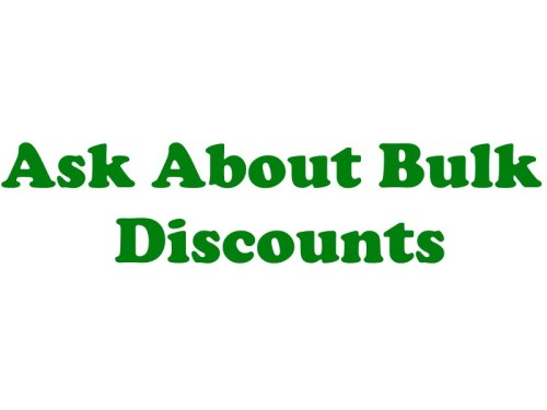 Ask About Bulk Discounts Cart and Checkout Ad