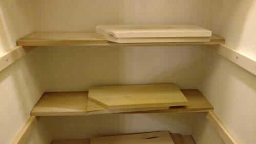 back shelves completed
