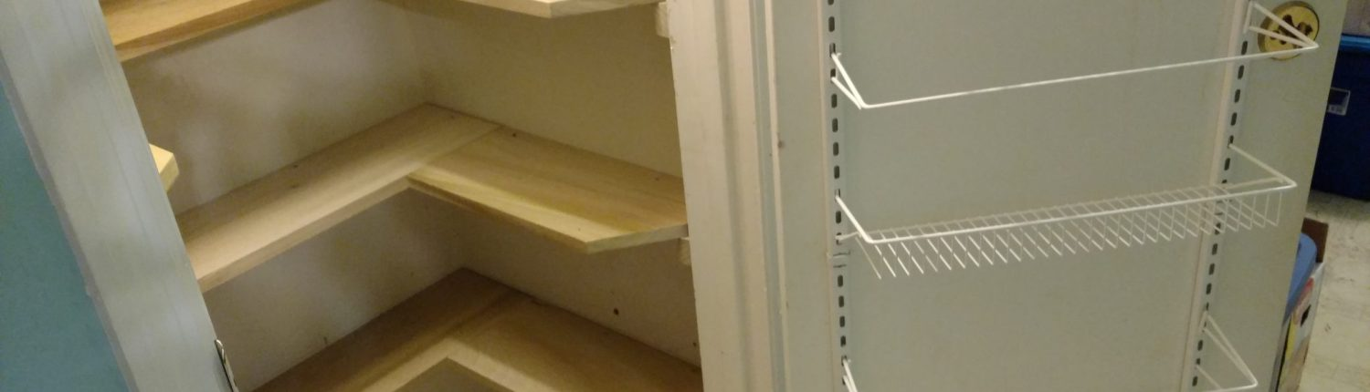 How to Build Shelves in a Useless Closet