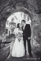 Photographies des Mariés - Sous les voutes